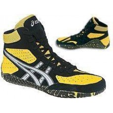 Wrestling Shoes ASICS Aggressor Yellow/Silver/Black